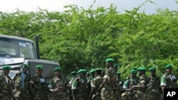 African Union peacekeepers in Somalia