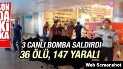 Atatürk hava limanında terror