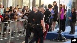 Brad Pitt se encontraba en el estreno de Maleficent cuando Vitalii Sediuk saltó por encima de una valla y lo golpeó en la cara.