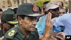 Egypt's military ruler Field Marshal Mohammed Hussein Tantawi (file photo).