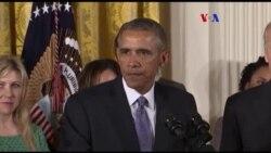 Obama chora com seu discurso sobre controlo de armas