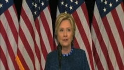"""克林頓呼籲FBI公佈""""一切涉及新電郵調查""""資訊"""
