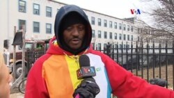 Como enfrentan personas sin hogar en D.C. la super tormenta