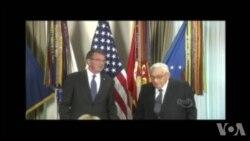 美国防部授予基辛格公众服务奖