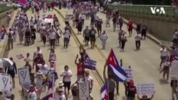 美國等21國聯合譴責古巴鎮壓要求自由的抗議人士