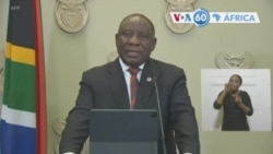 Manchetes africanas 29 Dezembro: Presidente Cyril Ramaphosa anunciou nova proibição venda de álcool