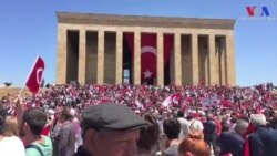 19 Mayıs IŞİD'e Rağmen Kutlandı