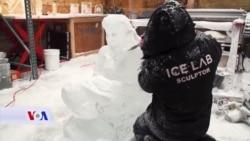Skulpture od leda