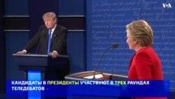 Теледебаты кандидатов в вице-президенты: справка