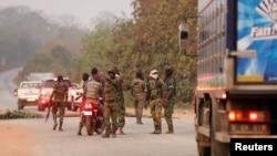Des soldats mutins ont pris le contrôle de la ville de Bouaké, Côte d'Ivoire, 6 janvier 2017.