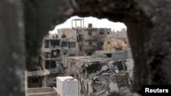 La banlieue de Benghazi, en Libye (Reuters, archives)