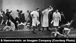 A scene from the original 1947 production of Allegro.