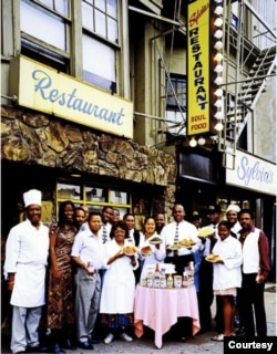 The staff of Sylvia's in Harlem in 1980. (Carol M. Highsmith, Library of Congress)