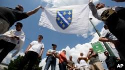Protest u Sarajevu zbog hapšenja Nasera Orića