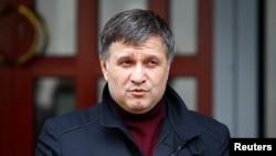 FILE - Ukraine's Interior Minister Arsen Avakov