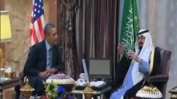 奧巴馬和沙特國王討論敘利亞和伊朗問題