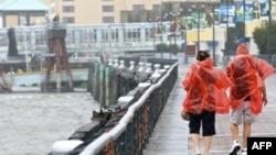 Bão nhiệt đới Lee ập vào bang Luoisiana ở miền Nam Hoa Kỳ, 4/9/2011