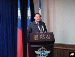 台湾国防部发言人虞思祖
