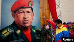"""Maduro dijo, en cadena de radio y televisión, que el tratamiento de Chávez es """"de cuidado"""", y que tiene que ir """"poco a poco"""" en su proceso de recuperación."""