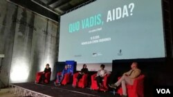 "Film ""Quo vadis, Aida?"" prikazan u bivšoj Fabrici akumulatora u Potočarima"