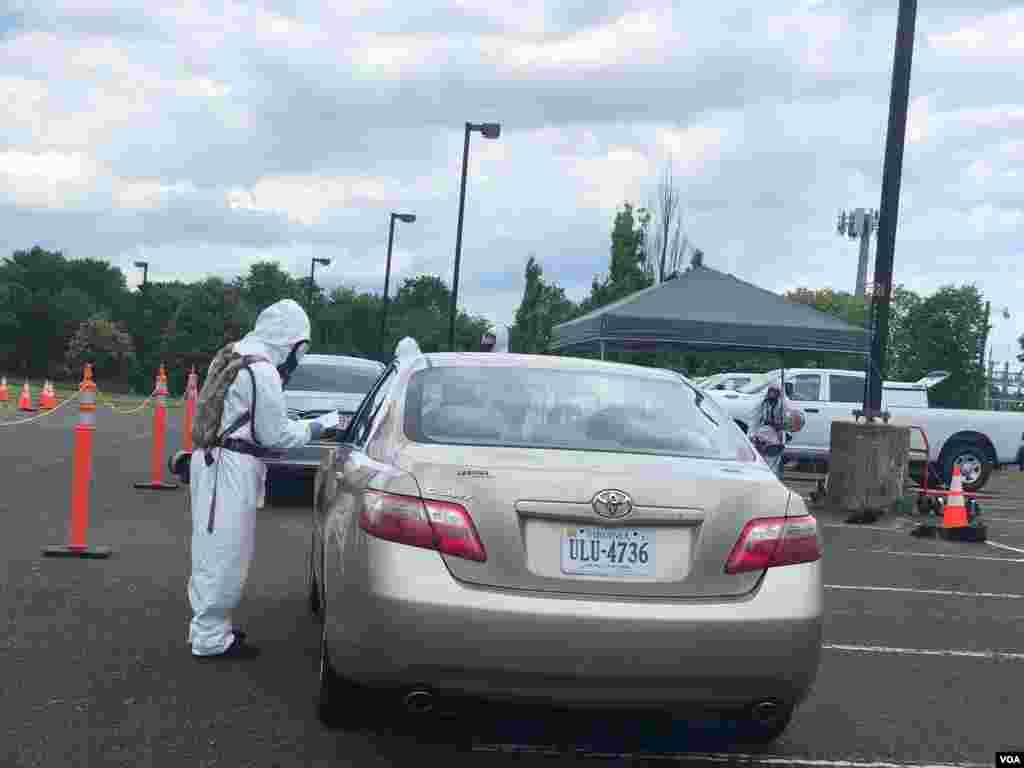 Se puede llegar al sitio de pruebas conduciendo o a pie.