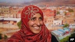 توکل کرمان، امن کا نوبیل انعام حاصل کرنے والی پہلی عرب خاتون