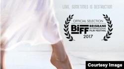 Poster phim Đảo Của Dân Ngụ Cư tại Liên hoan phim Brisbane.