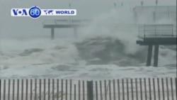 Hurricane Sandy closes in on East Coast