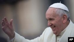 로마 가톨릭 교회 최고 지도자인 프란치스코 교황. 오는 8월 14일 처음으로 한국을 방문할 예정이다.