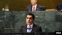Nassir Abdulaziz Al-Nasser stalni predstavnik Qatara , po današnjem otvaranju zasjedanja Generalne Skupštine