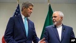 Keri i Zarif tokom današnjeg susreta u sedištu Ujedinjenih nacija