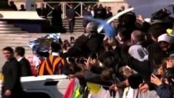 Despedida, sin precedentes, del Papa Benedicto XVI