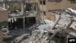 Последствия взрыва в Кабуле 7 августа, 2019