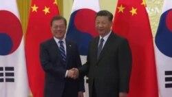 文在寅會晤習近平 雙方同意努力恢復兩國關係