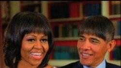 2013-04-28 美國之音視頻新聞: 美國政界與名流在駐白宮記者團週年晚宴上聚首同 歡
