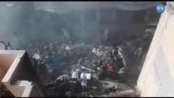 Pakistan'da Bir Yolcu Uçağı Yerleşim Alanına Düştü