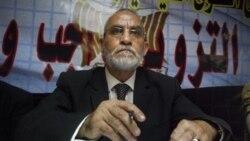 مصر مداخله آمریکا در امور داخلی کشور را رد می کند