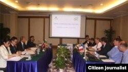 ການປະຊຸມຂອງເຈົ້າໜ້າທີ່ລາວ ເພື່ອກຽມການເປັນເຈົ້າພາບຈັດກອງປະຊຸມ ASEM ຄັ້ງທີ 9 ທີ່ຈັດຂຶ້ນໃນເດືອນກໍລະກົດ 2012