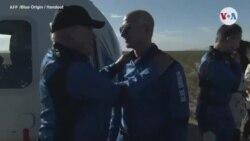 Actor de 90 años llega al espacio