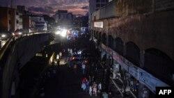 22일 베네수엘라 수도 카라카스 일대에서 대규모 정전사태가 다시 발생했다.