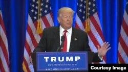 美国共和党总统竞选后选人川普