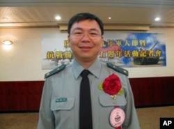台湾少校军医官 张耀文