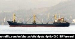선박 추적 사이트 '마린 트래픽'에 올라온 '케이 모닝호' 사진. 미 국무부 등은 지난해 3월 해당 선박이 북한산 석탄 수출을 한 것으로 믿어지는 선박이라고 밝힌 바 있다.