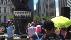 Bernie Sanders Supporters Rally Near Democratic Convention
