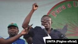 Joaquim Nafoia, deputado da UNITA, Angola