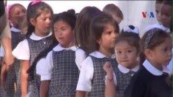 Học sinh New York tập dượt chuẩn bị chào đón Đức Giáo hoàng
