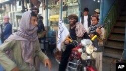 شہر میں موجود طالبان جنگجو