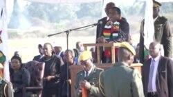 Mnangagwa Receives Body of Former Zimbabwe President, Calls Him Icon of Pan-Africanism