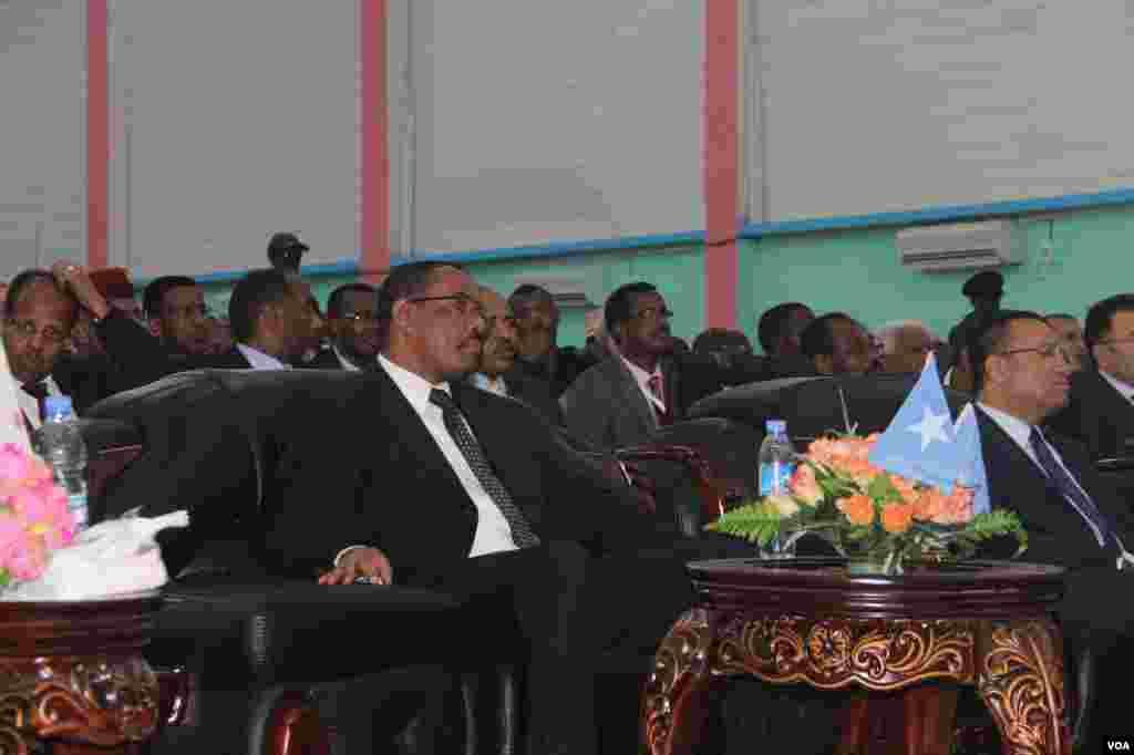 R/W Ethiopia iyo kuxigeenka R/W Turkey oo fadhiya xafladda Caleema Saarka Madaxweynaha cusub.