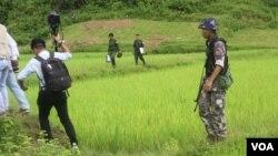 Akses ke wilayah Rohingya di negara bagian Rakhine yang berbatasan dengan Bangladesh diawasi ketat oleh militer Myanmar (foto: ilustrasi).